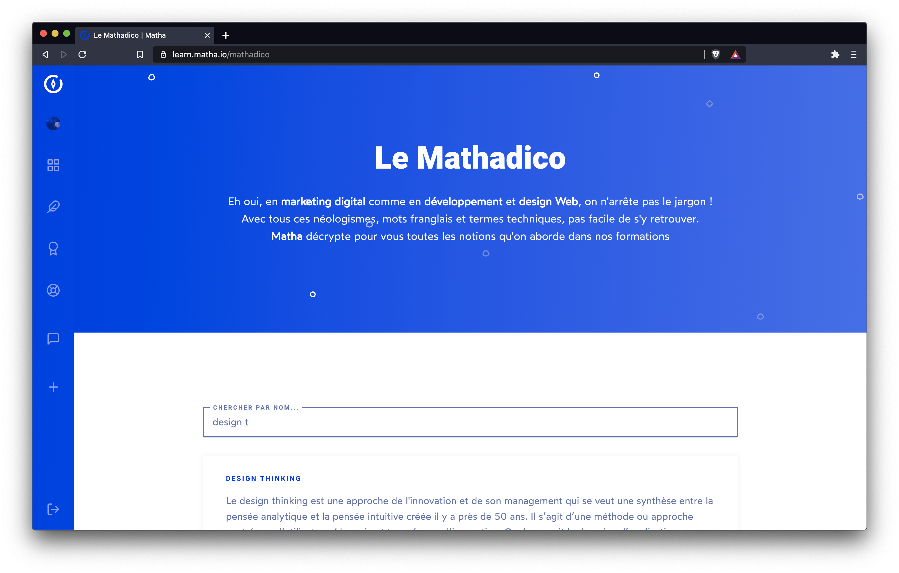 👩🏫 Le Mathadico